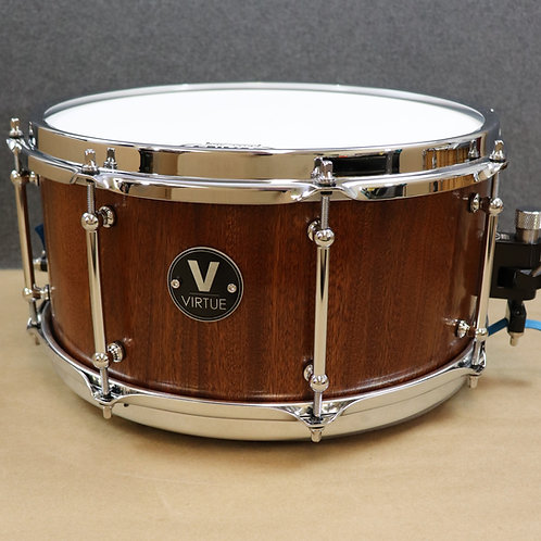 "VIRTUE: Honesty™ 13""x6.5"" African Sapele Snare Drum"