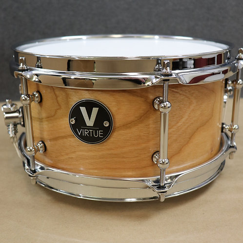"VIRTUE: Humility™ 10""x5"" Cherry-Walnut Snare Drum"