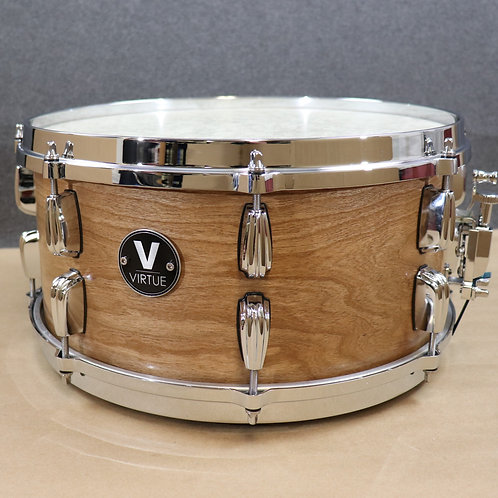 """VIRTUE: Humility™ 14""""x6.5"""" Cherry-Okoume Snare Drum"""