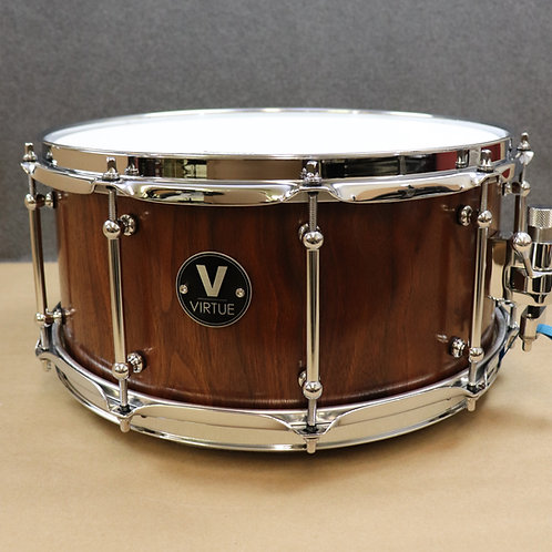 "VIRTUE: Honesty™ 14""x6.5"" Black Walnut Snare Drum"