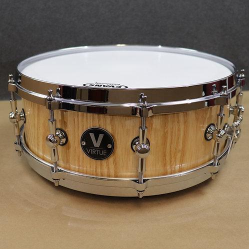 "VIRTUE: Honesty™ 14""x5"" Ash Snare Drum w/Diecast"