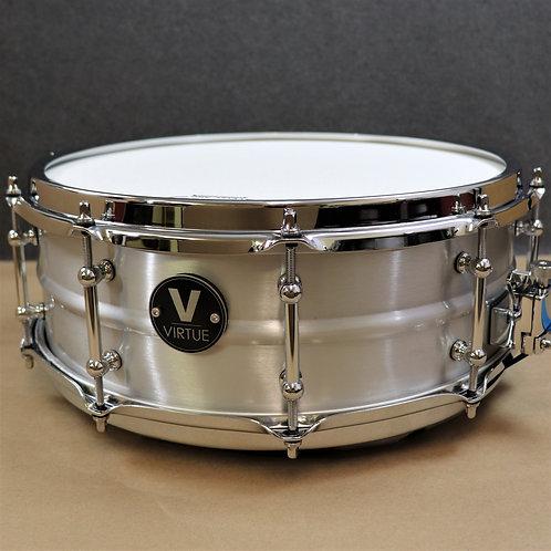 """VIRTUE: Diligence™ 14""""x5"""" Aluminum Snare Drum"""