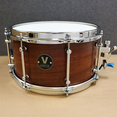 "VIRTUE: Humility™ 12""x6.5"" Bubinga-Maple Snare Drum"