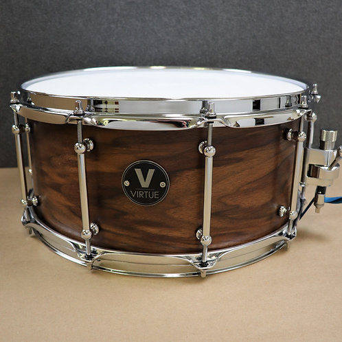 "VIRTUE: Humility™ 14""x6.5"" Black Walnut Snare Drum"