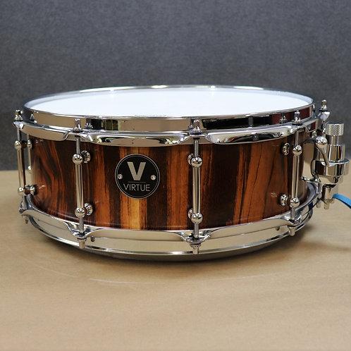 "VIRTUE: Honesty™ 14""x5"" Tigerwood Snare Drum"