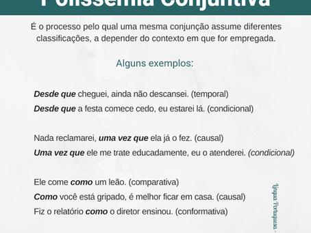 Você sabe o que é Polissemia Conjuntiva?