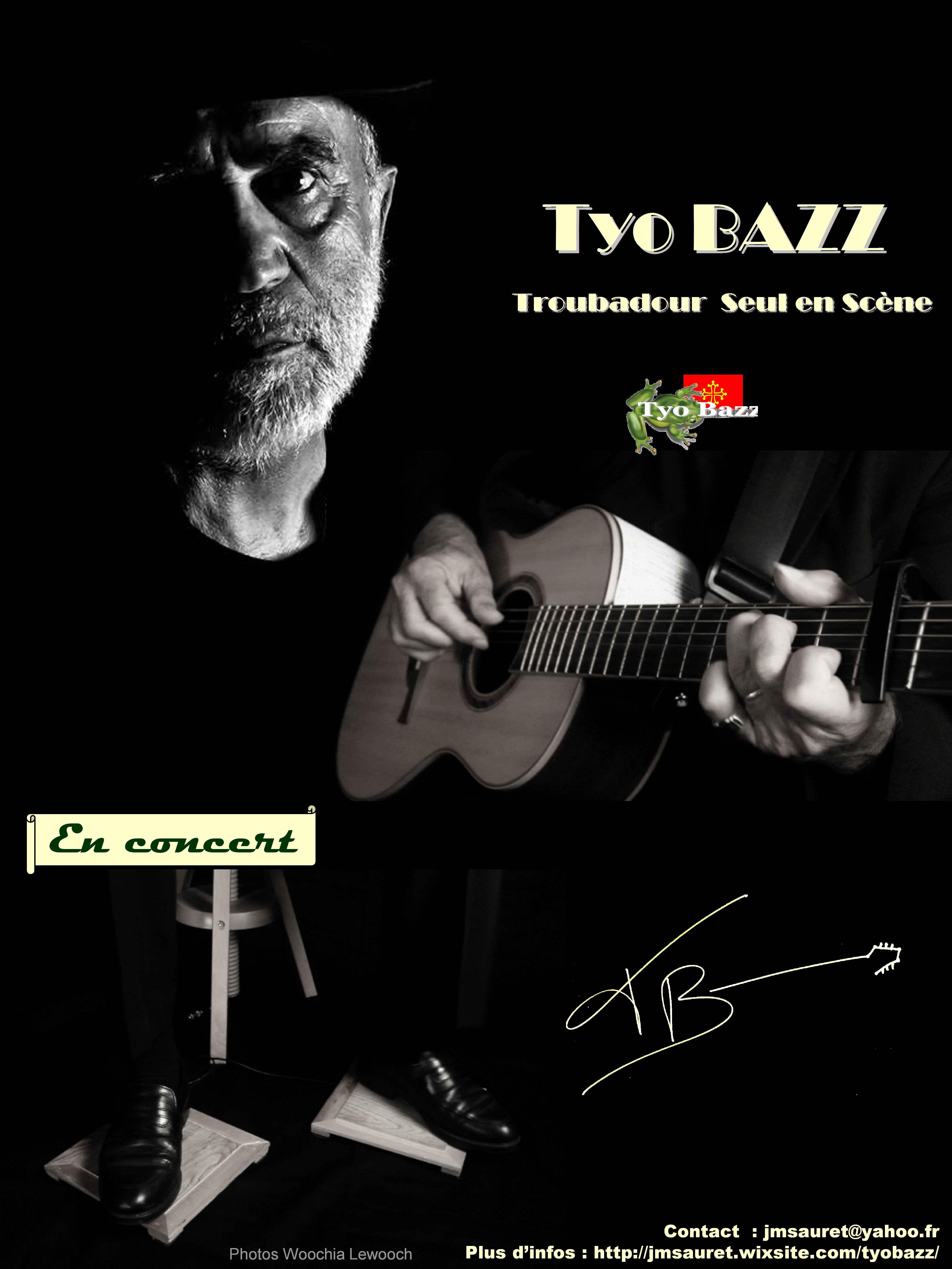 Affiche Tyo BAZZ 2017