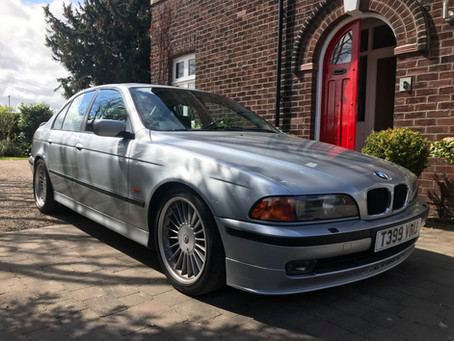 Readers Drives - Chris Woodhouse and his Alpina B10