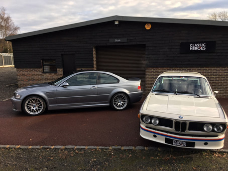 BMW CSL - like father, like son