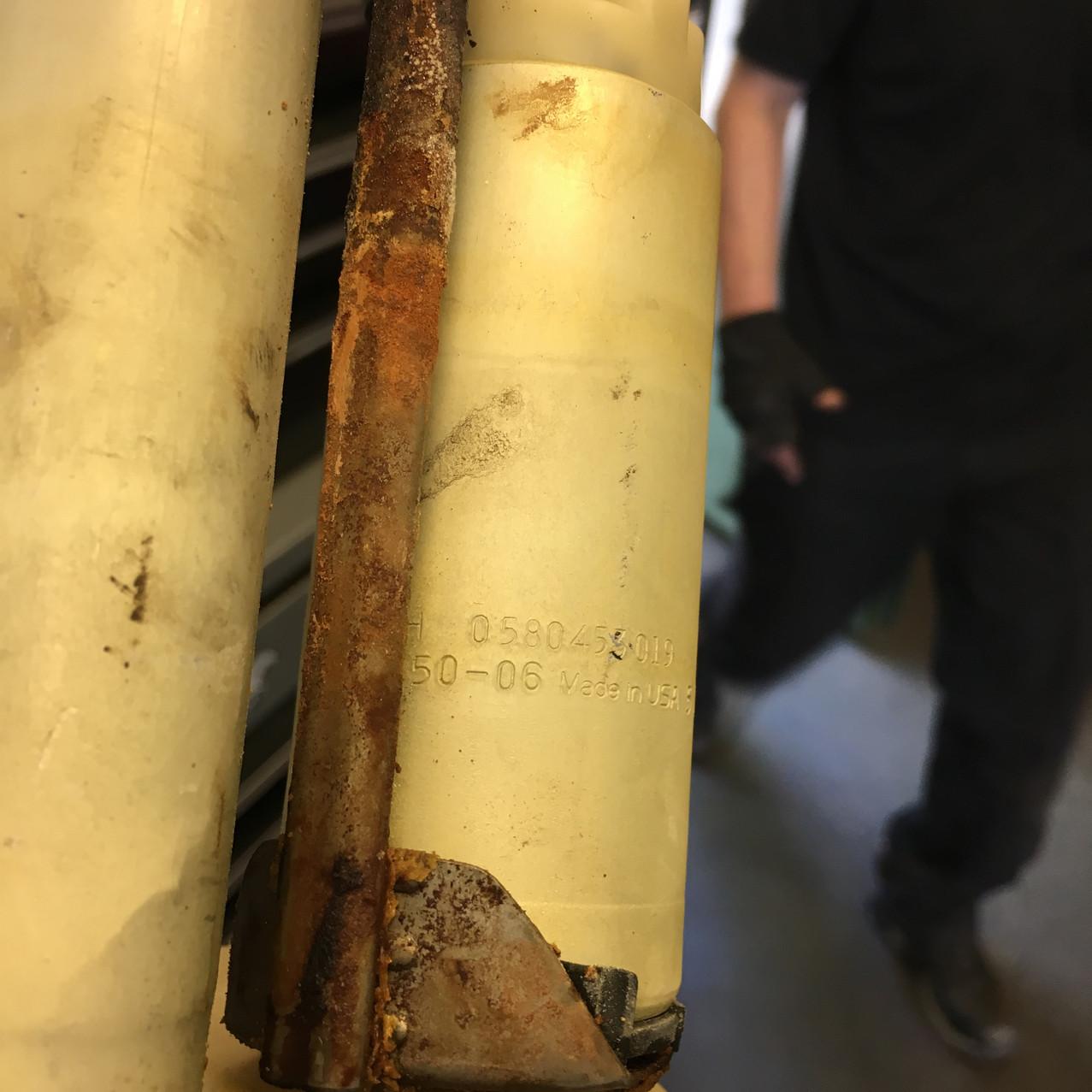 Rusty Sender Unit