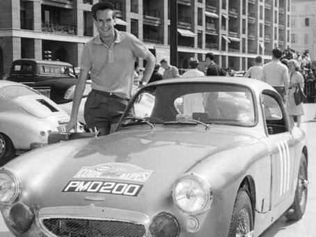 John Sprinzel, Champion Racing and Rally Driver and Sportscar Dealer
