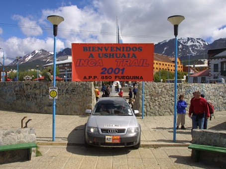 Readers Drives - The Inca Trail 2001