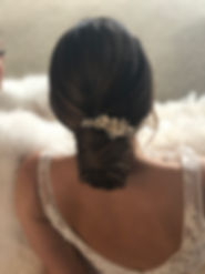 Elegant Romantic Wedding Hair Up Neat Ch