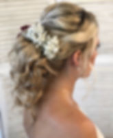Kent Bridal Hair Textured Bridal Ponytai