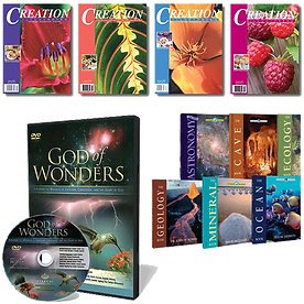 Creation products, back issues, DVDs, books, unit studies