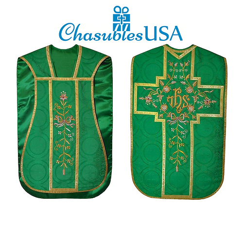 Fiddleback Chasuble & Low Mass Set