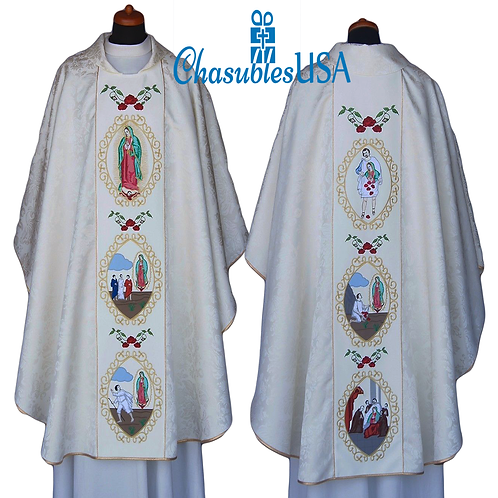 Our Lady of Guadalupe Marian Chasuble Embroidered