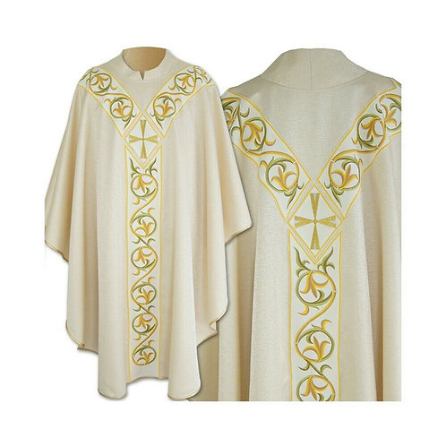 Eucharistic Priest Embroidered Chasuble