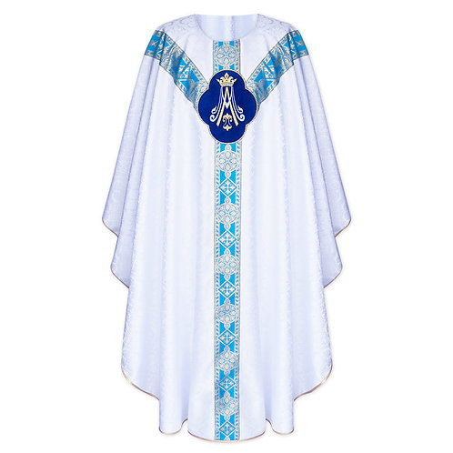 Gothic Marian Chasuble