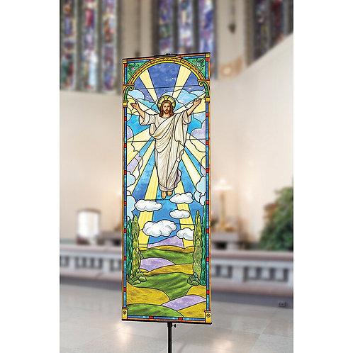 Risen Christ Banner