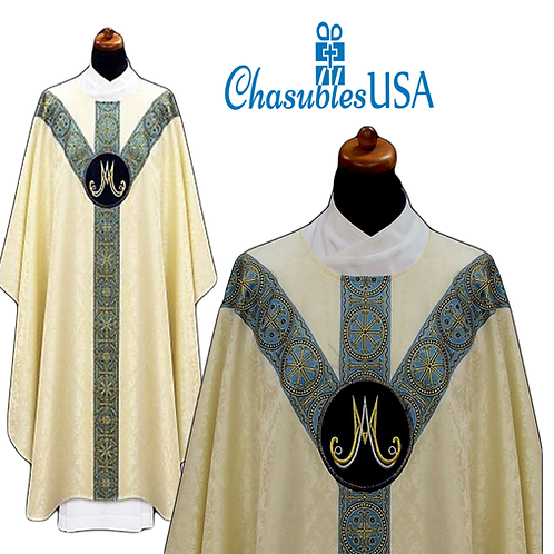 Elegant Marian Vestment 100% Viscose Fabric