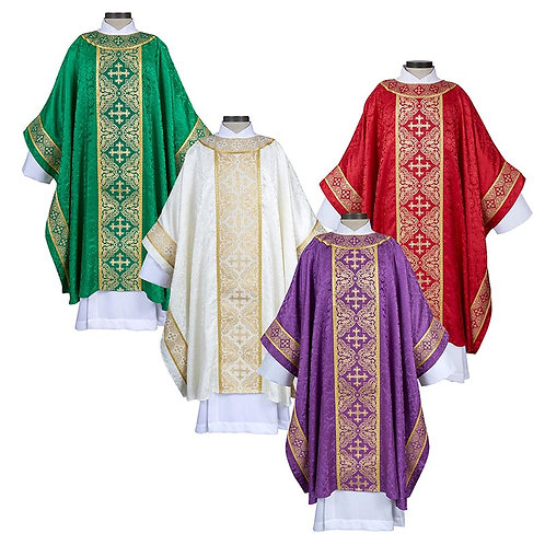 Excelsis Gothic Chasuble - Set of 4