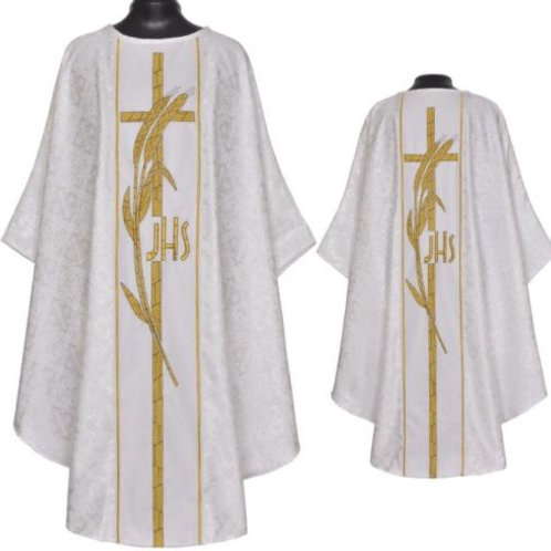 Priest Chasuble Gothic Vestment & Stole
