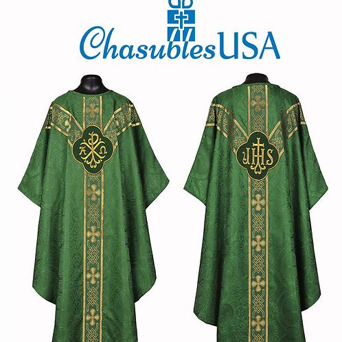 Gothic Chasuble Vestment Mass Set 5pcs