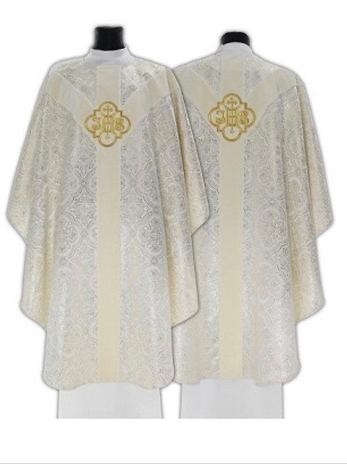 Semi Gothic IHS Chasuble