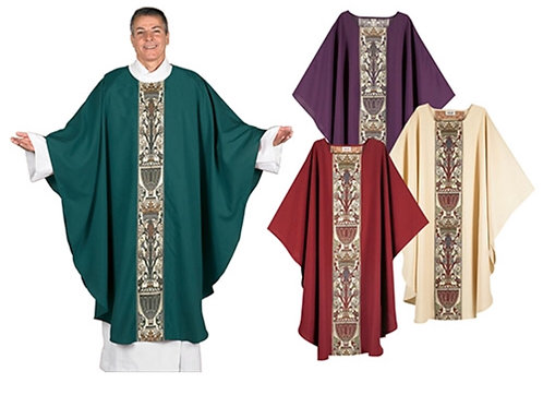 Coronation Tapestry Chasuble Purple