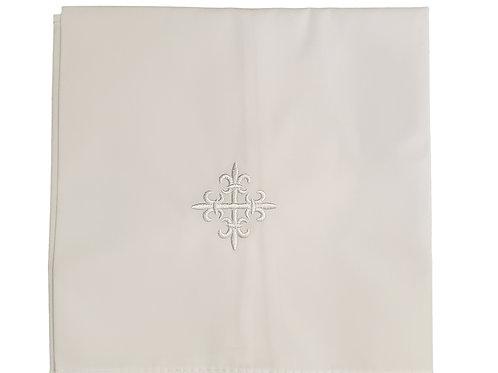 Altar Linen Fleur-de-Lis Cross Purificator - 3/pk