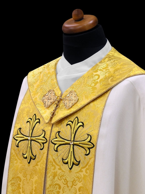 Cope Vestment Rich Italian Styled Brocade