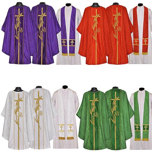 Set of 4 - Vestment & Stole Sets