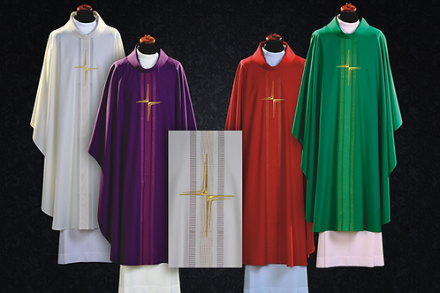 Elegant Chasuble Made of 100% Wool