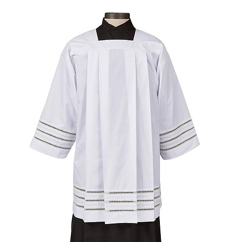 Augustinian Collection Trinity Box Pleated Surplice