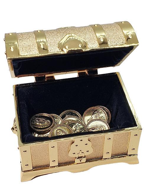 Wedding Arras Unity Coins Decorative Treasure Box