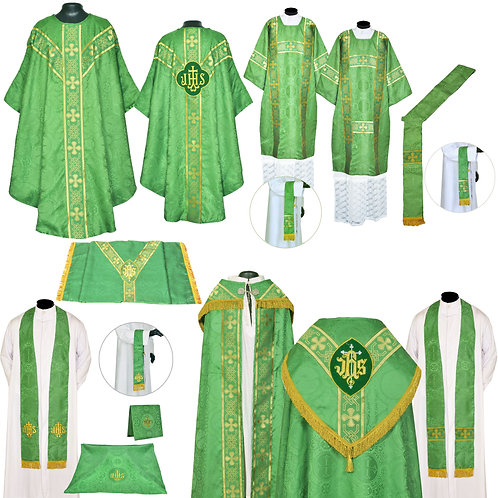 Green Gothic Solemn Requiem High Mass Set