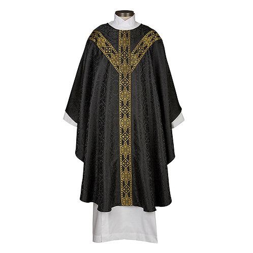 Avignon Collection Black Chasuble