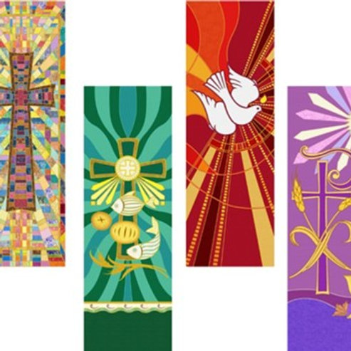 Tapestry Series X-Stand Banner Set