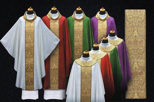 Coronation Chasubles Full Set