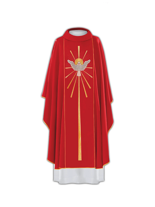 "Gothic Chasuble ""Holy Spirit"""