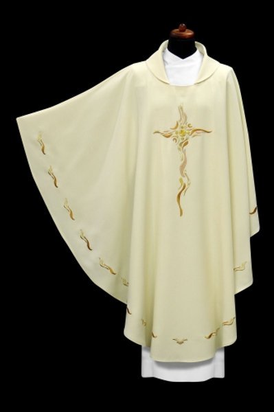 Modern Chasuble with Cross