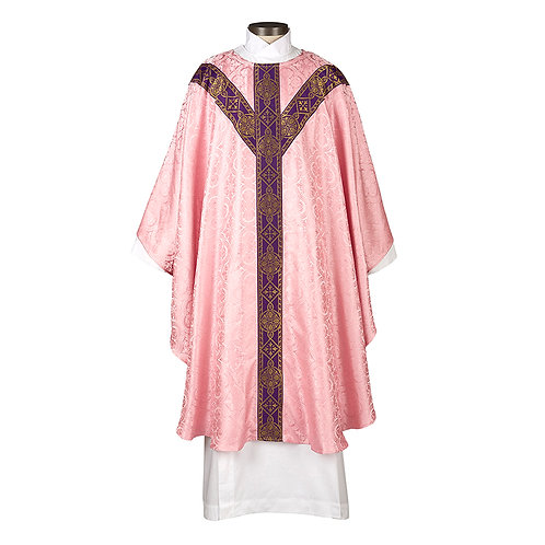 Avignon Collection Rose Chasuble