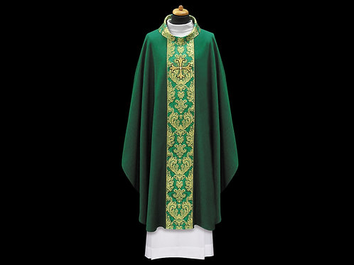 Chasuble with Fine Italian Gold Brocade