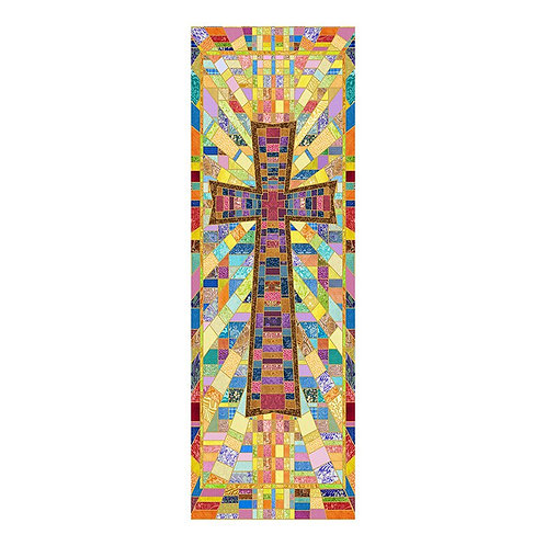 Cross Tapestry X-Stand Banner