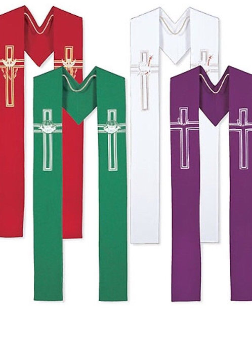 Set Of 4 Priest Stoles All Seasons