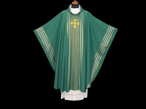Gothic Chasuble Modern lightweight Fabrics Green