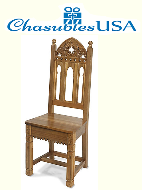 Celebrants Side Chair Gothic Style