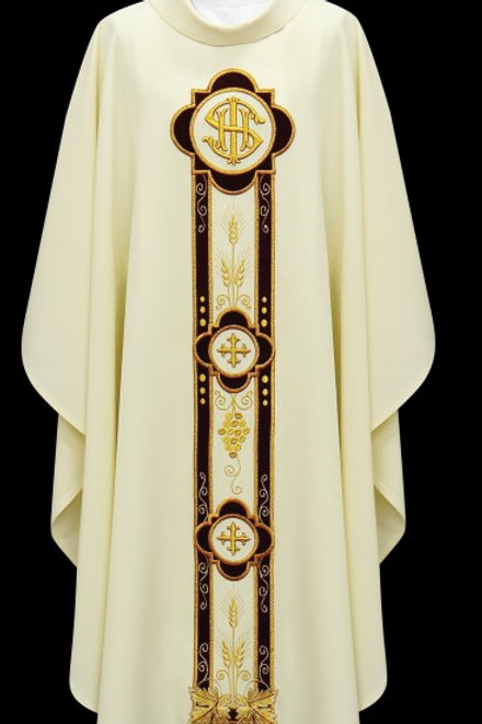 IHS Decorated Chasuble