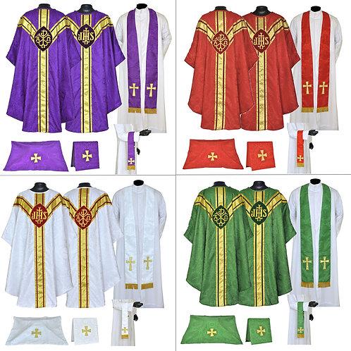 Set of 4 - Vestment & Mass Sets